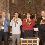 Trompeten in Aktion